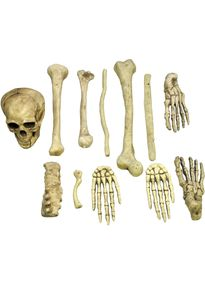 Расчлененный бутафорский скелет в мешке-2