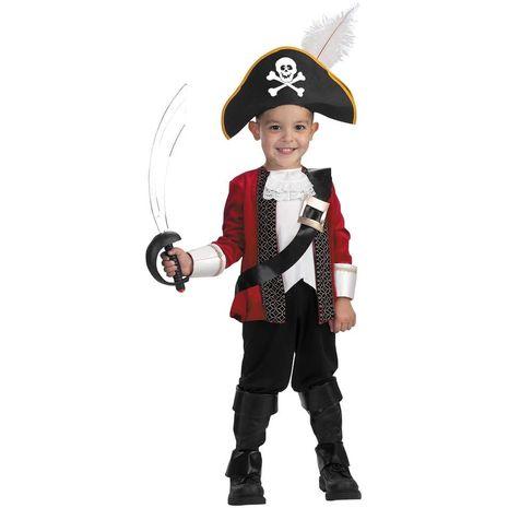 Карнавальный костюм бравого пирата