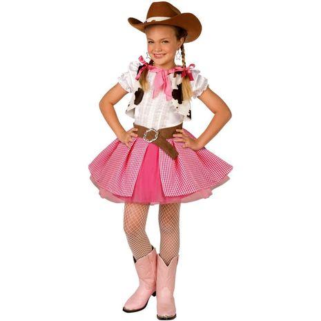 Карнавальный костюм девочки-ковбоя