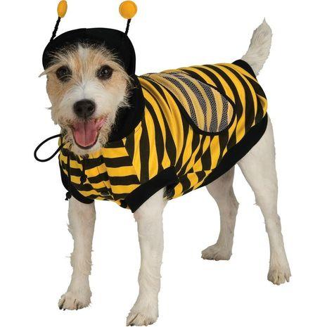 Карнавальный костюм для собаки: Бамблби