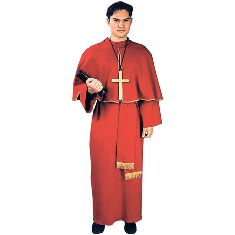 Карнавальный костюм кардинала