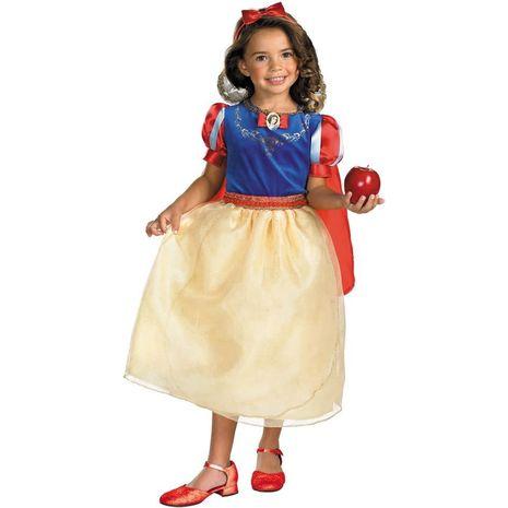 Карнавальный костюм малышки Белоснежки