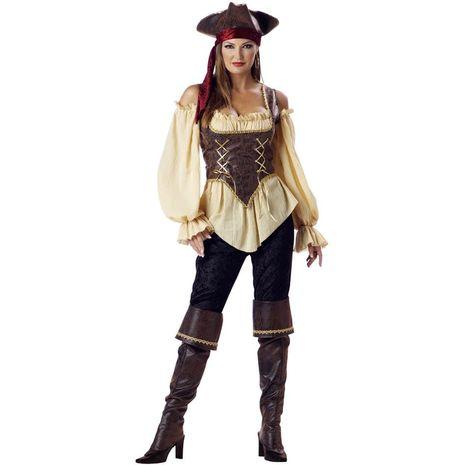 Карнавальный костюм пирата-леди