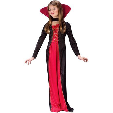 Карнавальный викторианский костюм девочки вампира