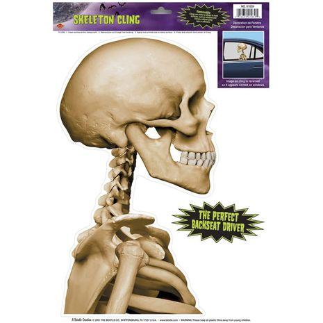 Наклейка Скелет