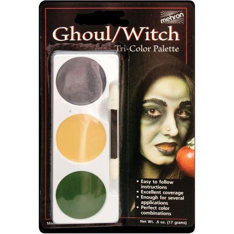 Трехцветная палитра Ведьма