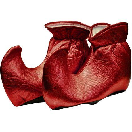Туфли эльфа красные